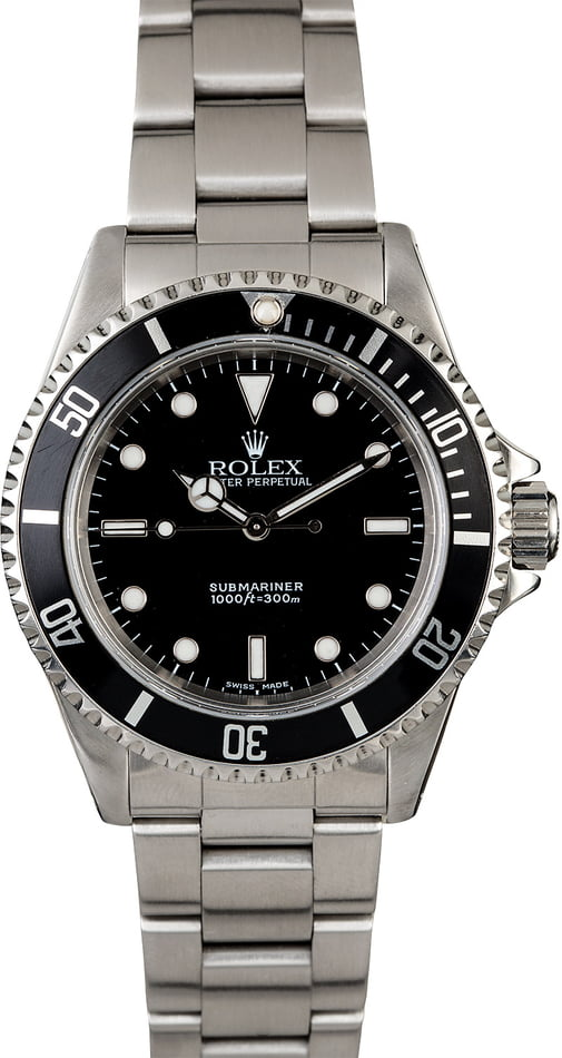 Rolex Submariner 14060 Stainless Steel Band