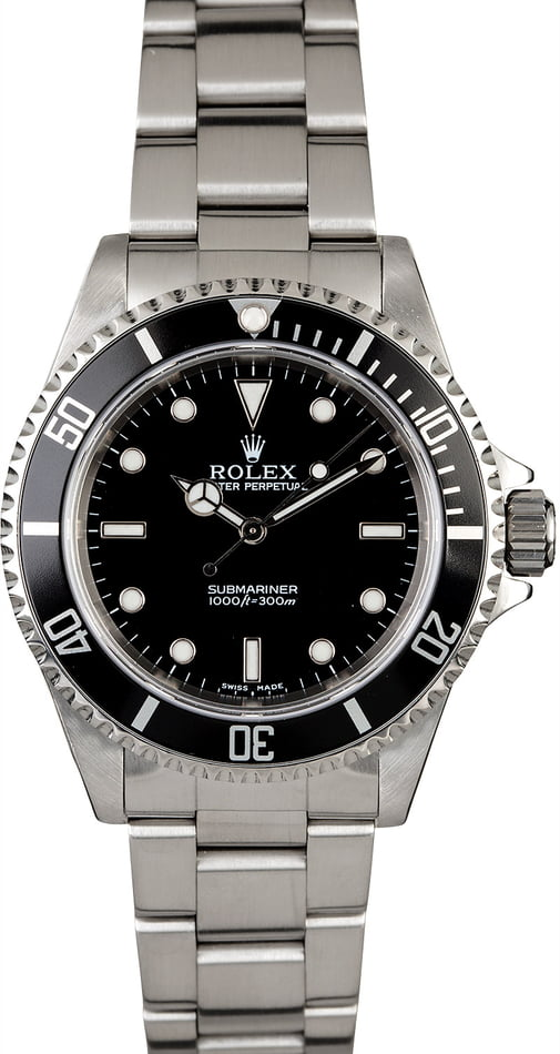 Certified PreOwned Rolex Submariner 14060