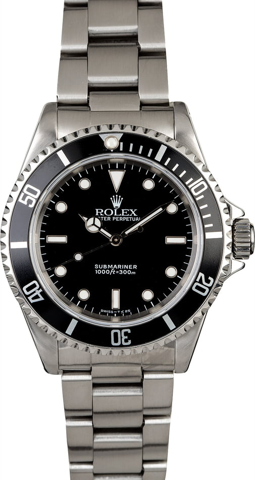 Rolex Submariner 14060 Men's No Date Watch