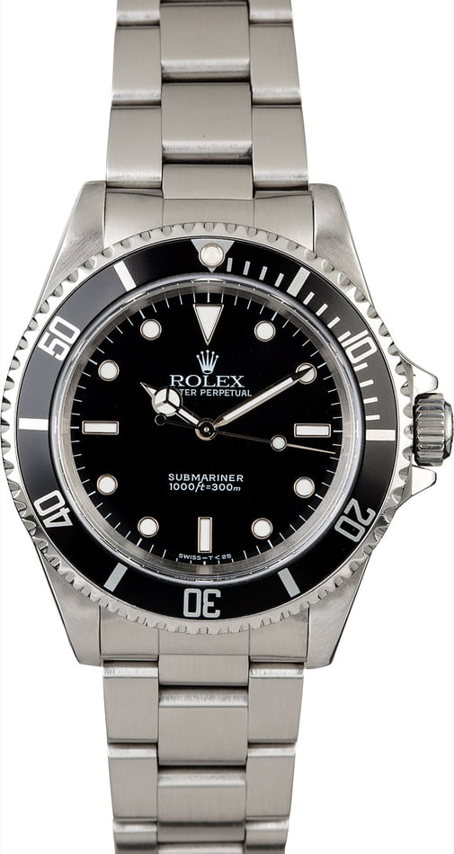 Men's Steel Rolex Submariner 14060