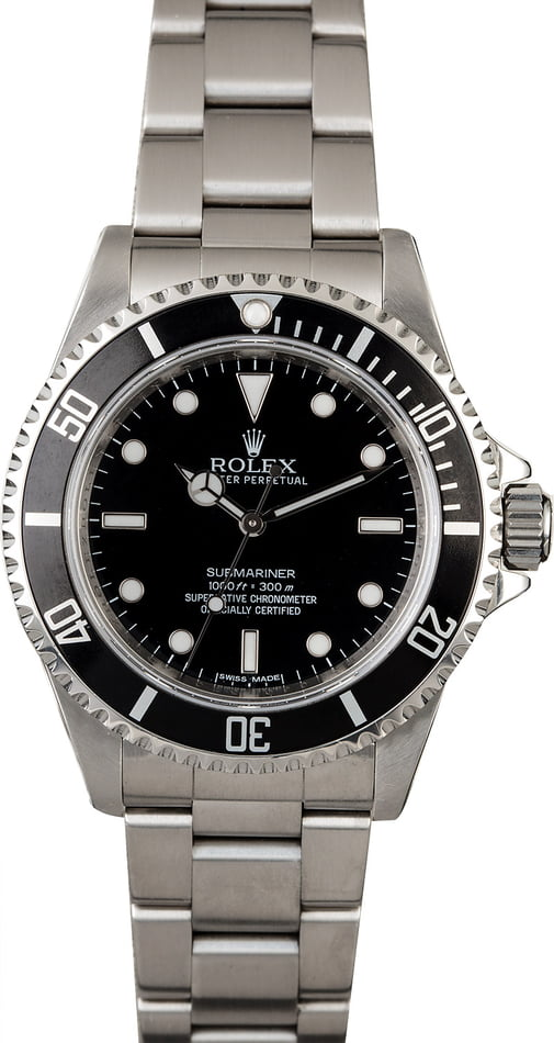 Rolex Submariner 14060 with Serial Engraved