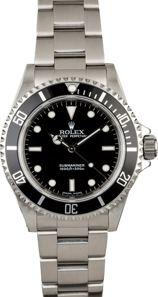 Rolex No Date Submariner Reference 14060M