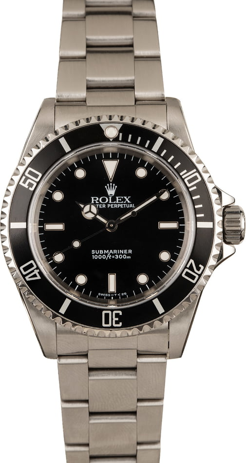 Used Rolex 14060 No Date Submariner Model