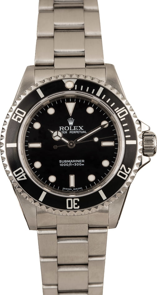Used Rolex 14060 Steel No Date Sub T