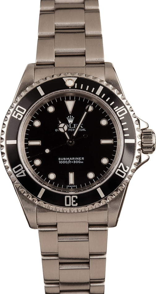 Pre-Owned Rolex 14060 Submariner