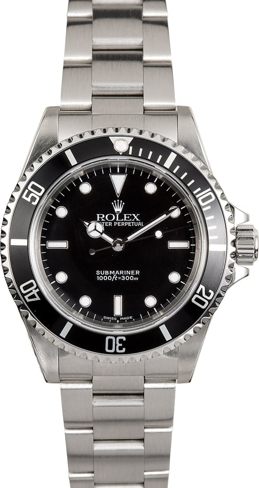 Rolex Submariner 14060 No Date Certified Pre-Owned