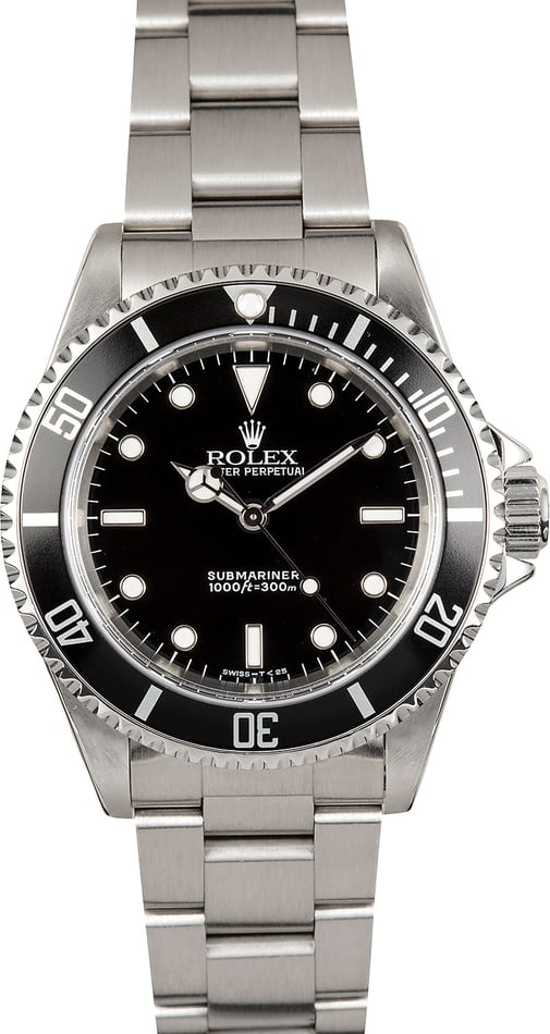Rolex Submariner 14060 No Date Stainless