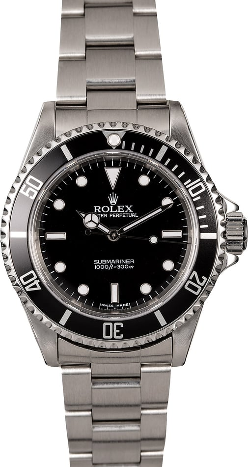 Submariner Rolex 14060M Stainless Steel