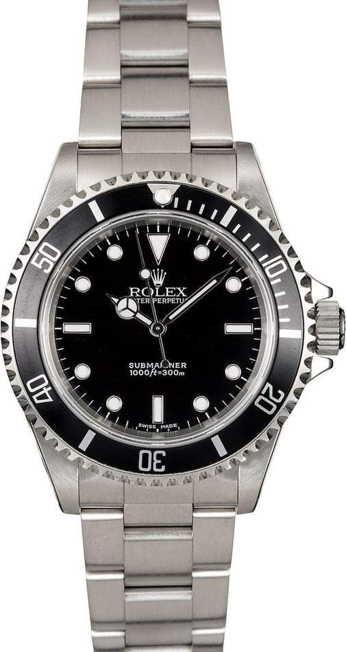 Rolex Submariner 14060M Stainless Steel