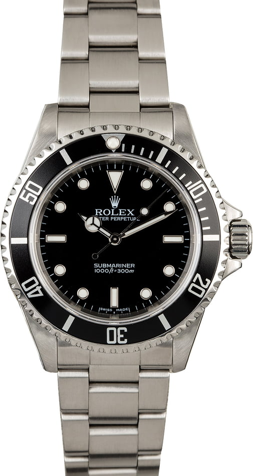 Used Rolex Submariner 14060M Stainless Steel Oyster