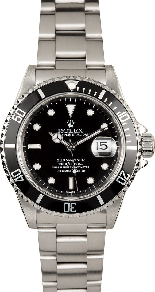 Rolex Submariner 16610 100% Genuine