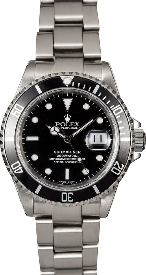 Rolex Submariner 16610 Steel Oyster Band