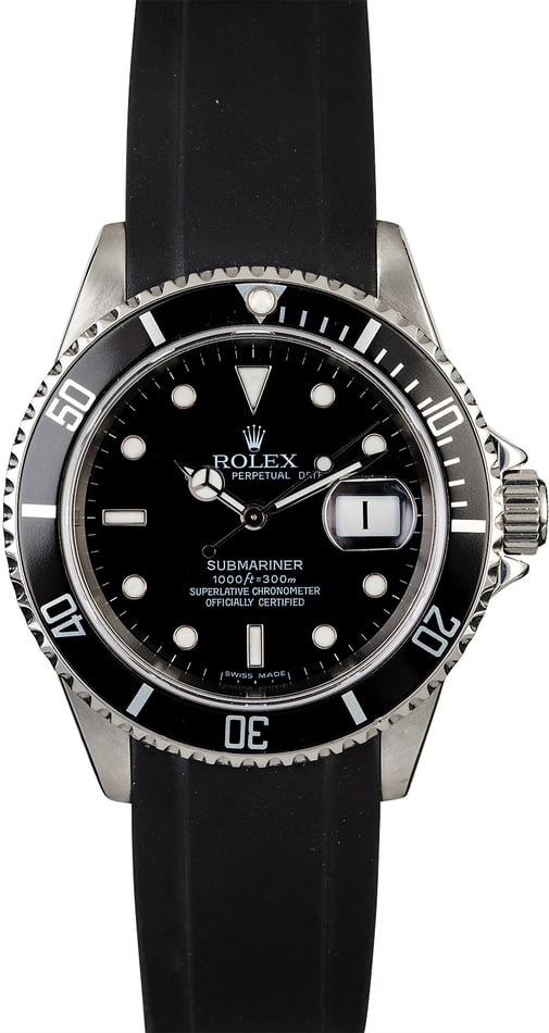 Rolex Submariner 16610 Rubber Everest Strap