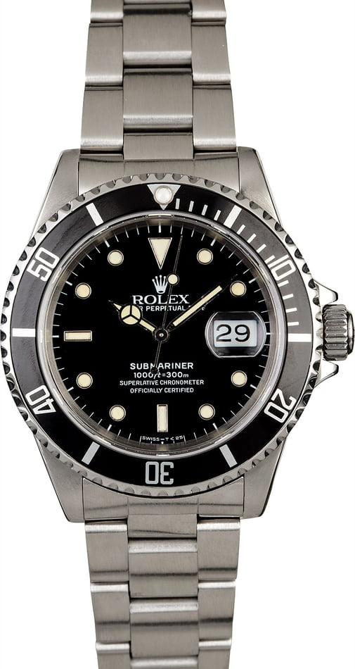 Rolex Submariner 16610 Oyster Perpetual Watch