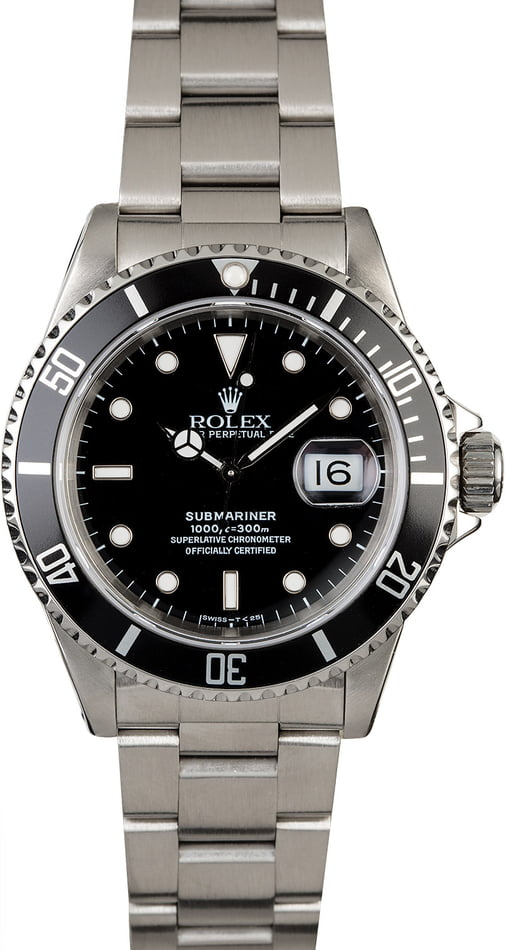 Rolex Submariner 16610 Steel Oyster Perpetual