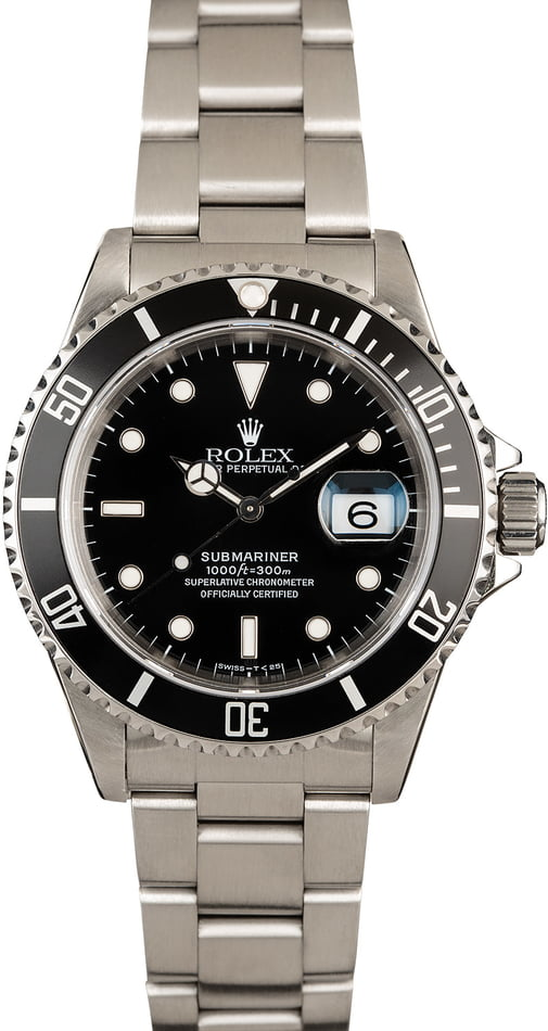 Rolex Submariner 16610 Timing Bezel