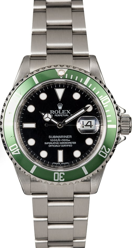 Rolex Submariner 16610V Kermit