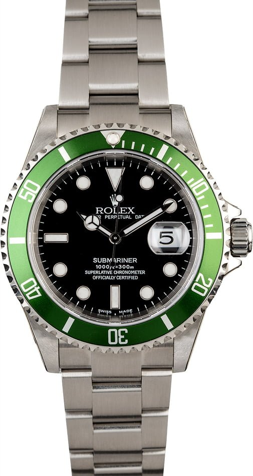 Unworn Rolex Submariner 16610V Flat Four