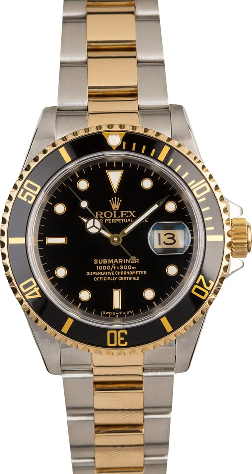 PreOwned Rolex Submariner 16613 Men's Watch