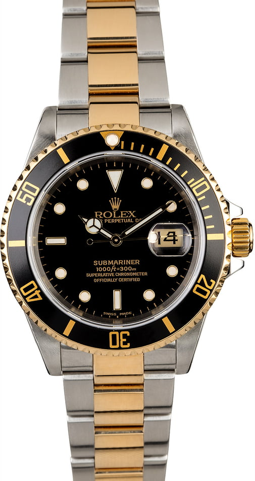 Rolex Submariner 16613 Steel Oyster Men's Watch