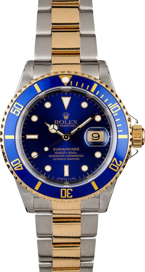 Men's Rolex Submariner 16613 Oyster Band
