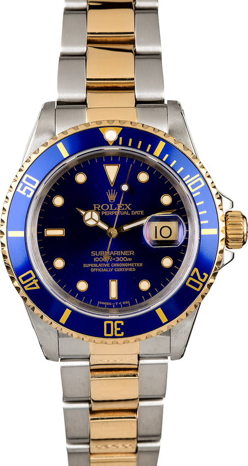 Men's Rolex Submariner 16613 Oyster Bracelet