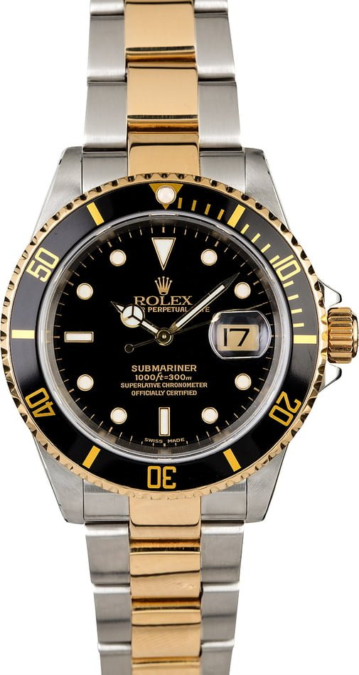 Rolex Submariner 16613 Oyster Perpetual