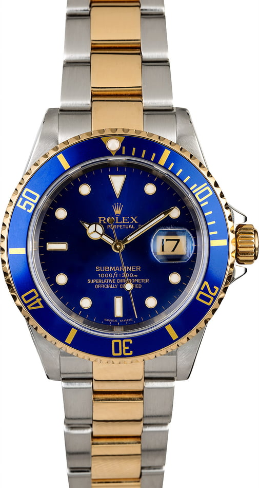 Rolex Submariner 16613 with Oyster Bracelet