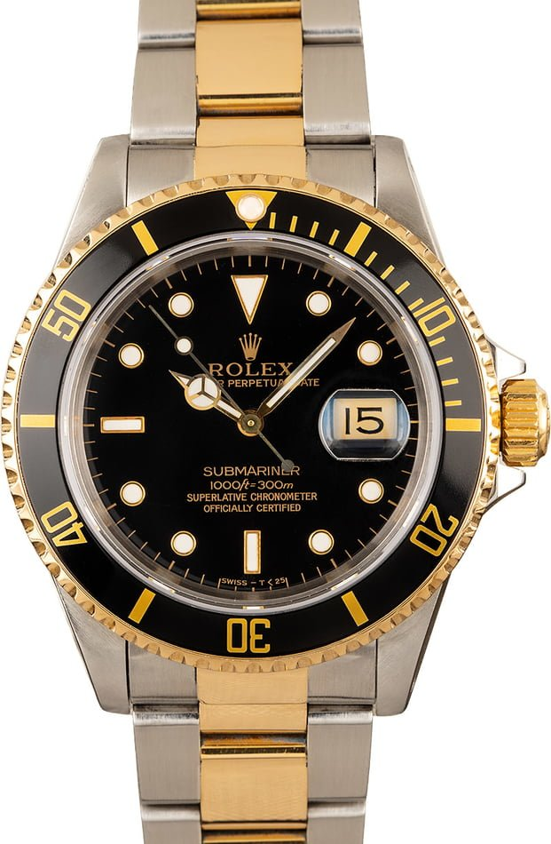 Used Rolex 16613 Submariner