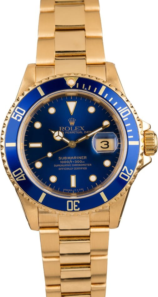 Rolex Submariner 16618 Certified Pre-Owned
