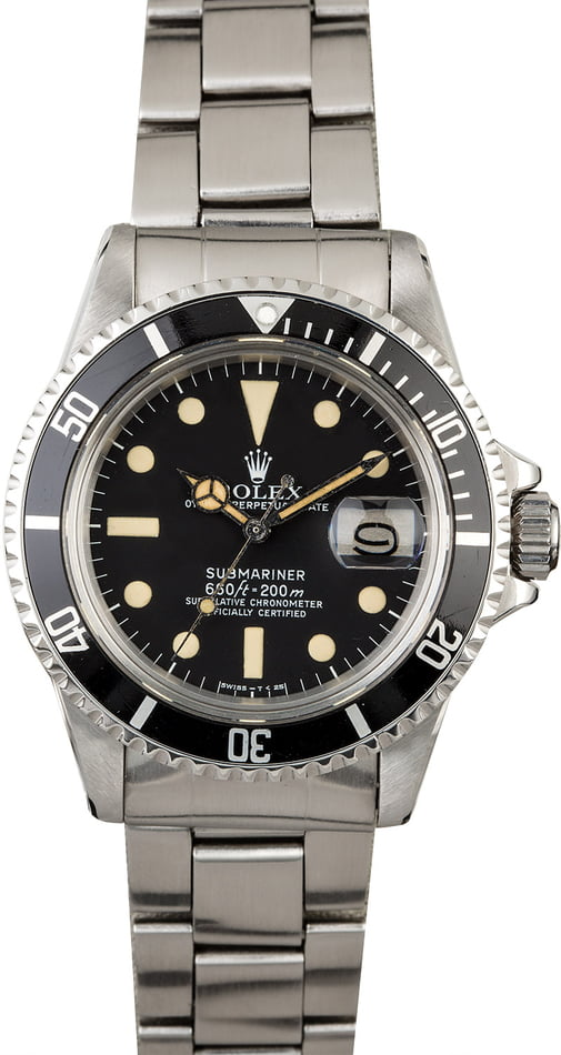 1978 Vintage Rolex Submariner 1680 Feet First