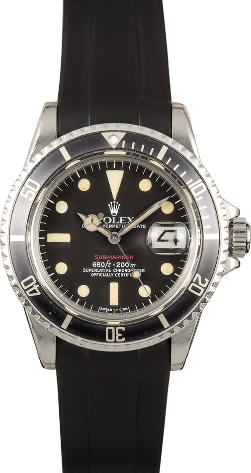 "Rolex Submariner 1680 ""Single Red"""