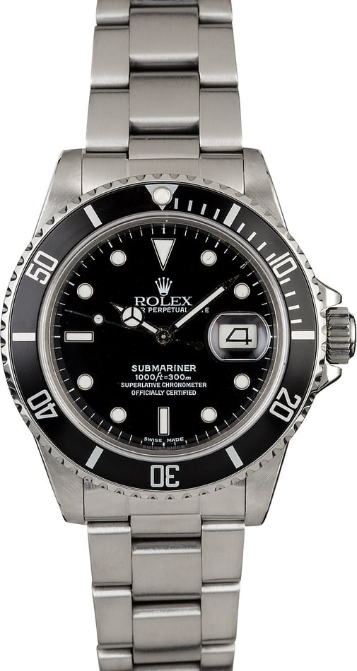 Rolex Submariner 16800 Stainless Steel Band
