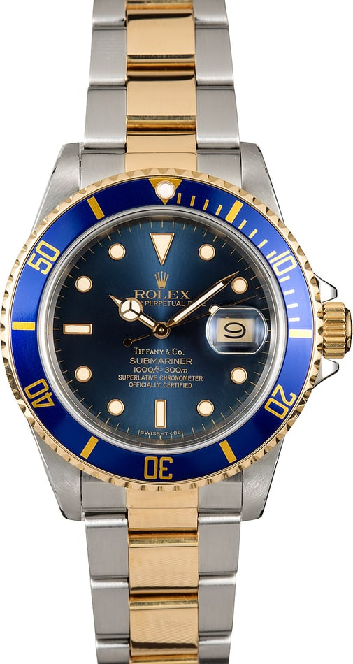 Rolex Submariner 16803 Tiffany Dial