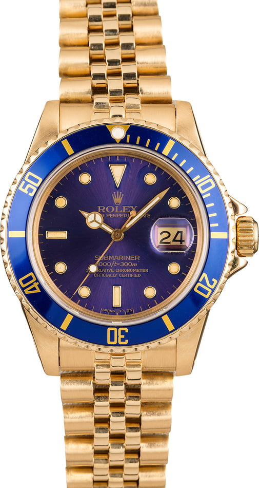 Pre-Owned Rolex Submariner 16808
