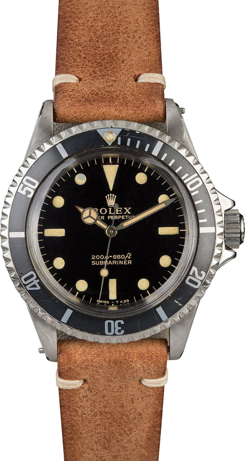 Vintage 1964 Rolex Submariner 5513 Meters First