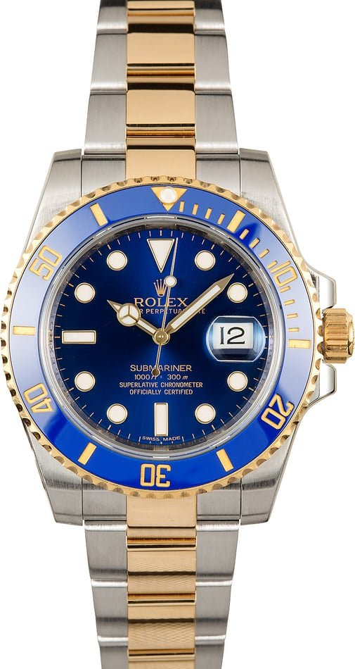 Rolex Submariner Blue 116613 Ceramic