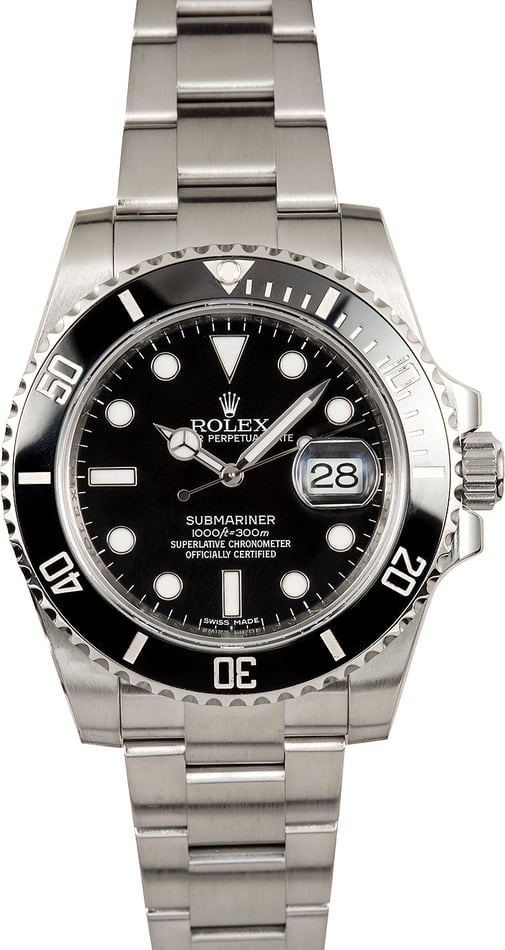 Black Rolex Ceramic Submariner Date 116610