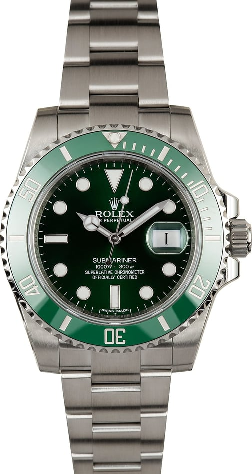 Rolex Submariner 116610V Anniversary 100% Authentic