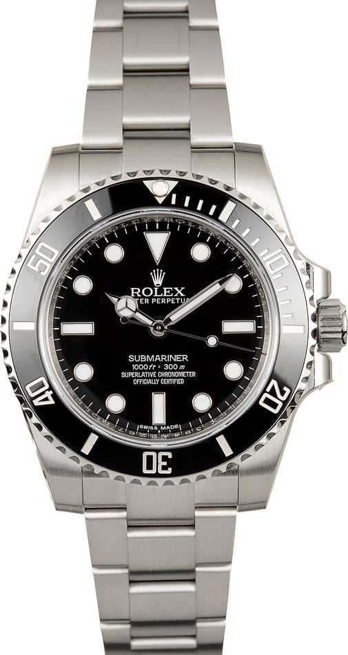 Rolex Submariner No Date 114060 TT