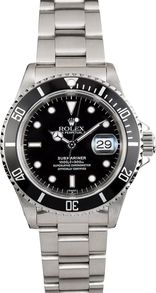 Rolex Submariner Oyster Perpetual 16610