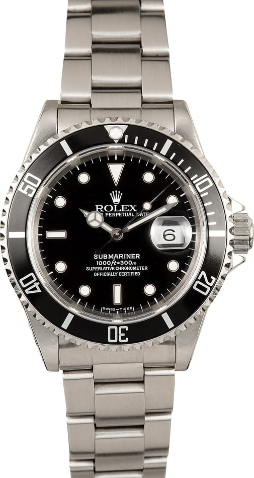Rolex Submariner Steel 16610 Oyster