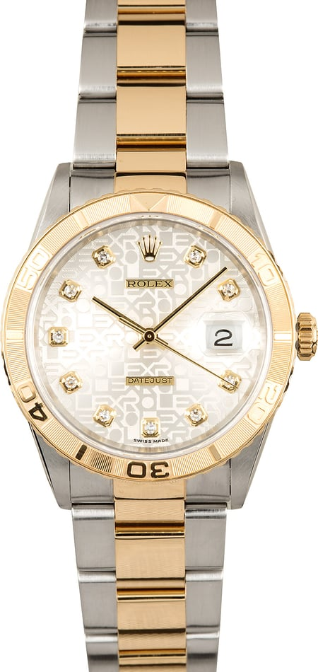 Rolex Thunderbird Datejust 16263 Diamond