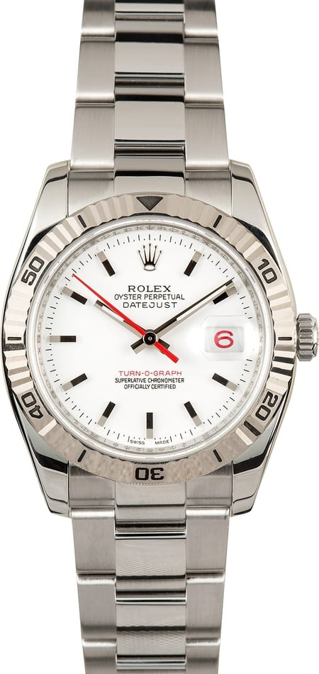 Rolex Thunderbird 116264 Box & Papers, 2007