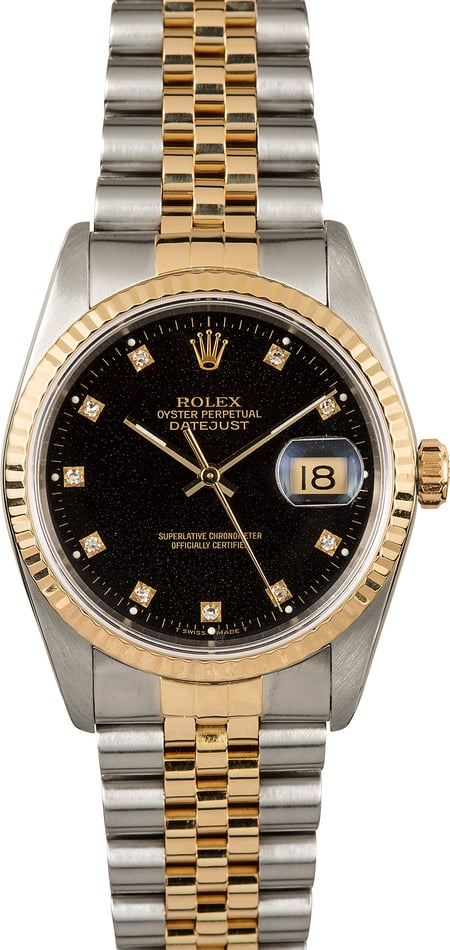 TTT Rolex Two-Tone Datejust 16233 Oyster