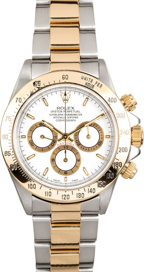Rolex Daytona White 16523 Two-Tone