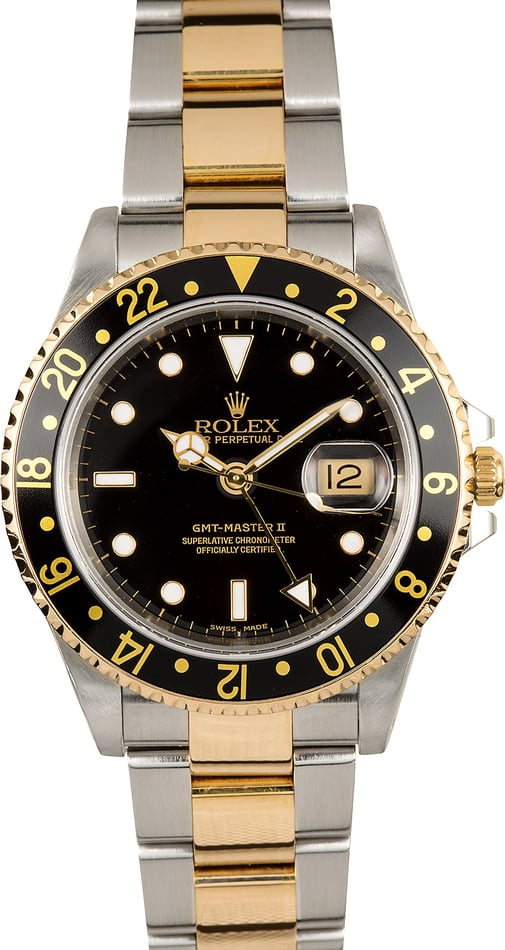 Rolex Two-Tone GMT Master II 16713