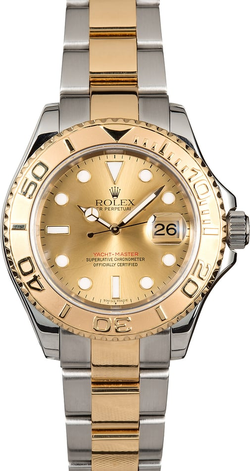Rolex Two-Tone Yacht-Master 16623 Oyster