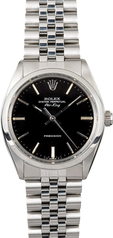 Rolex Air-King 5500 Jubilee Band
