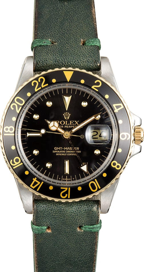 Rolex Vintage GMT-Master 1675 Nipple Dial